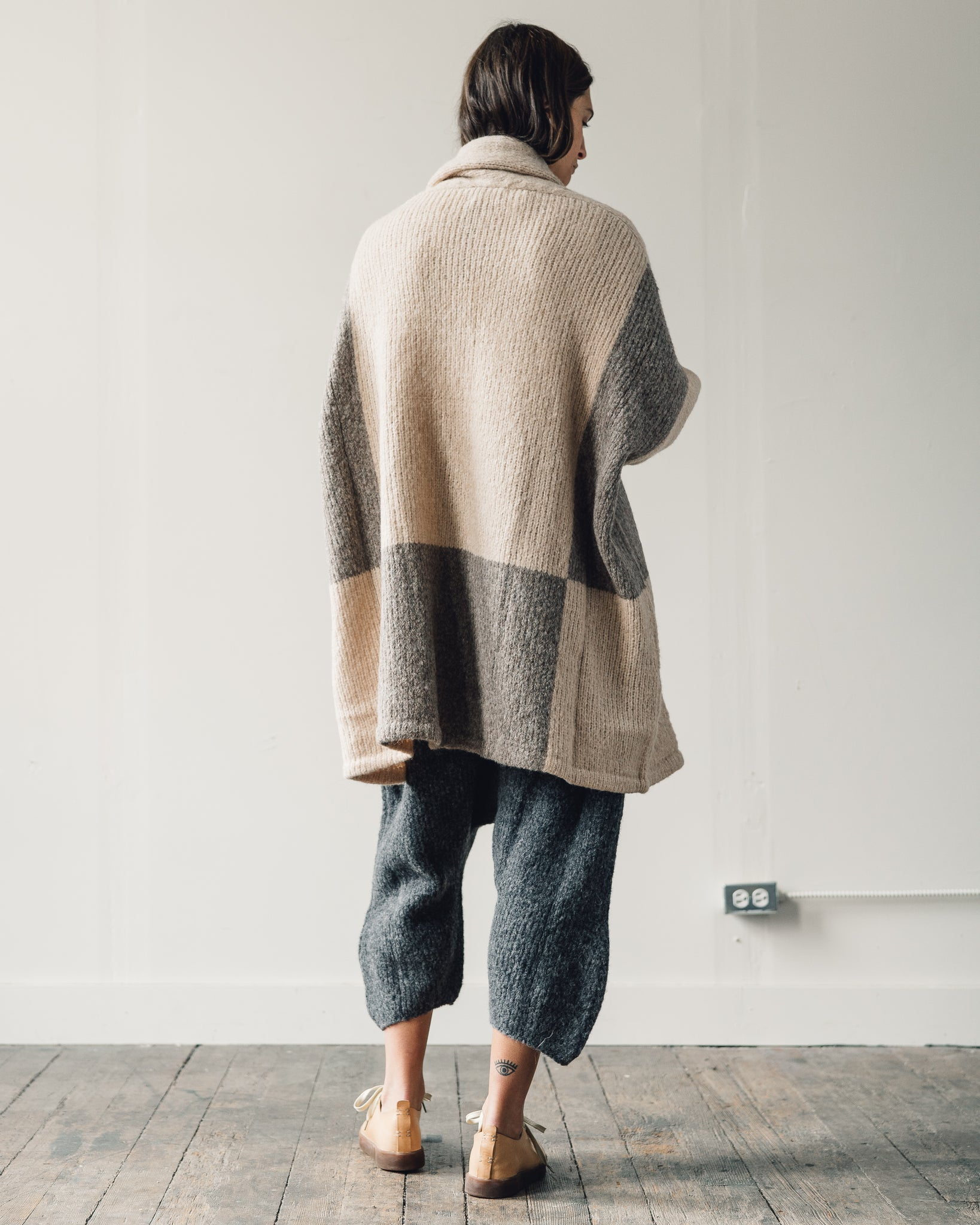 Delphine Haori Coat Blocking, Grain x Deer