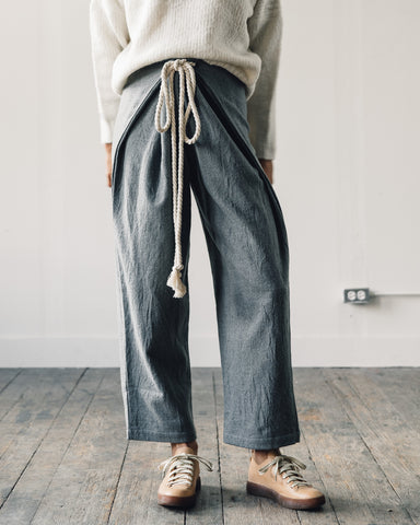 Delphine Parachute Pant, Neutral Grey
