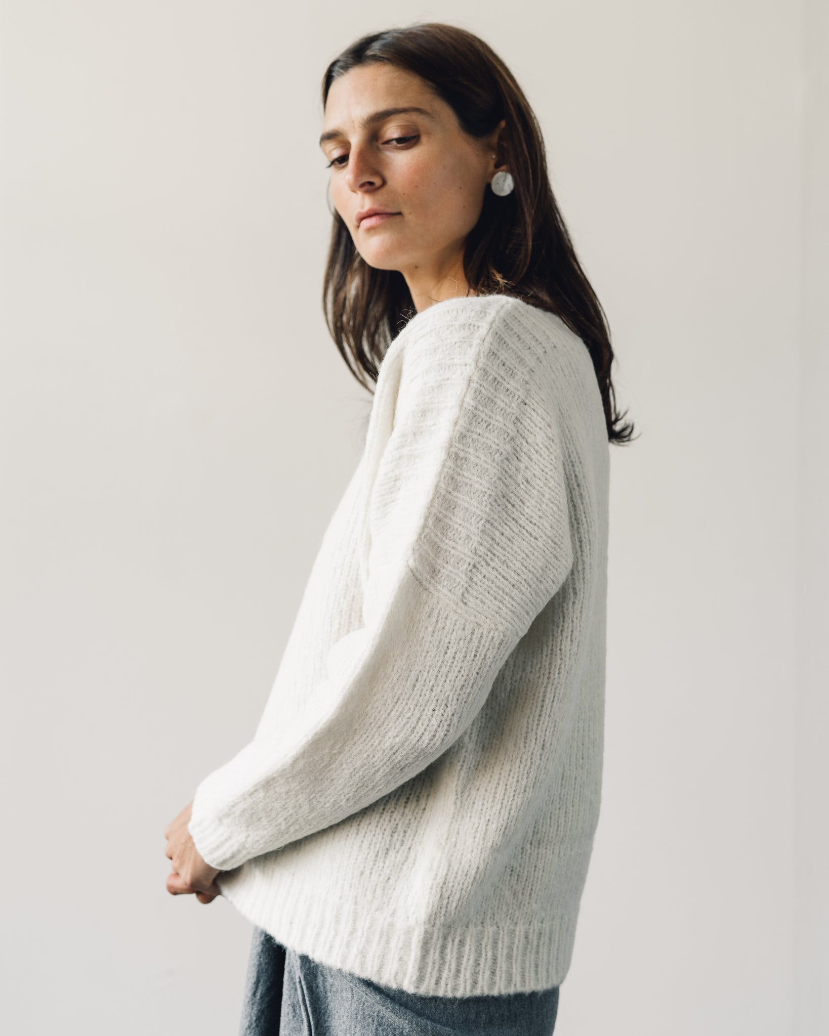 Delphine Tere Sweater, Cream