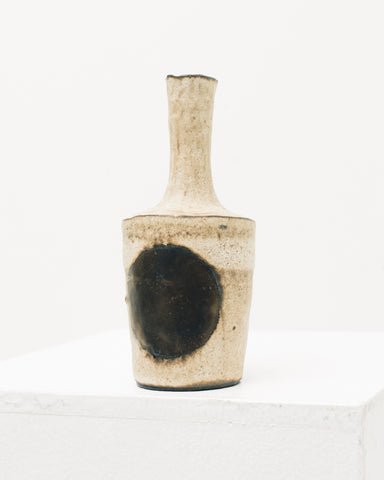 Ayame Bullock Bone & Copper Moon Vase