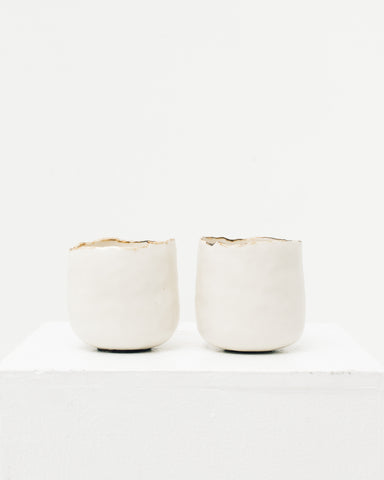 Ayame Bullock White Coffee Cup