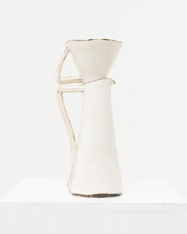 Ayame Bullock White Antique Rim Pourover