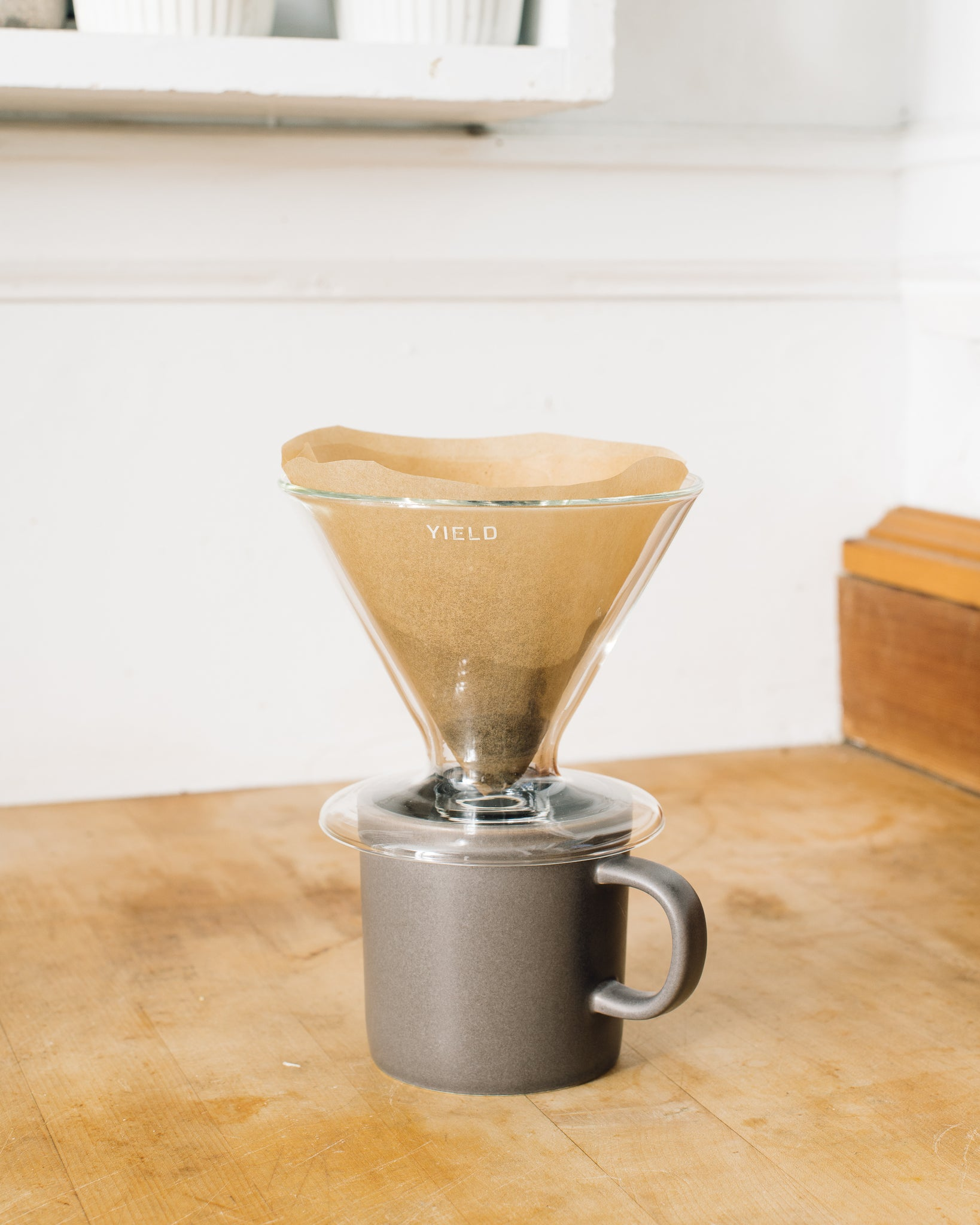 Yield Double-Wall Coffee Pour Over