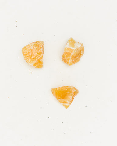 Crystals, Orange Calcite