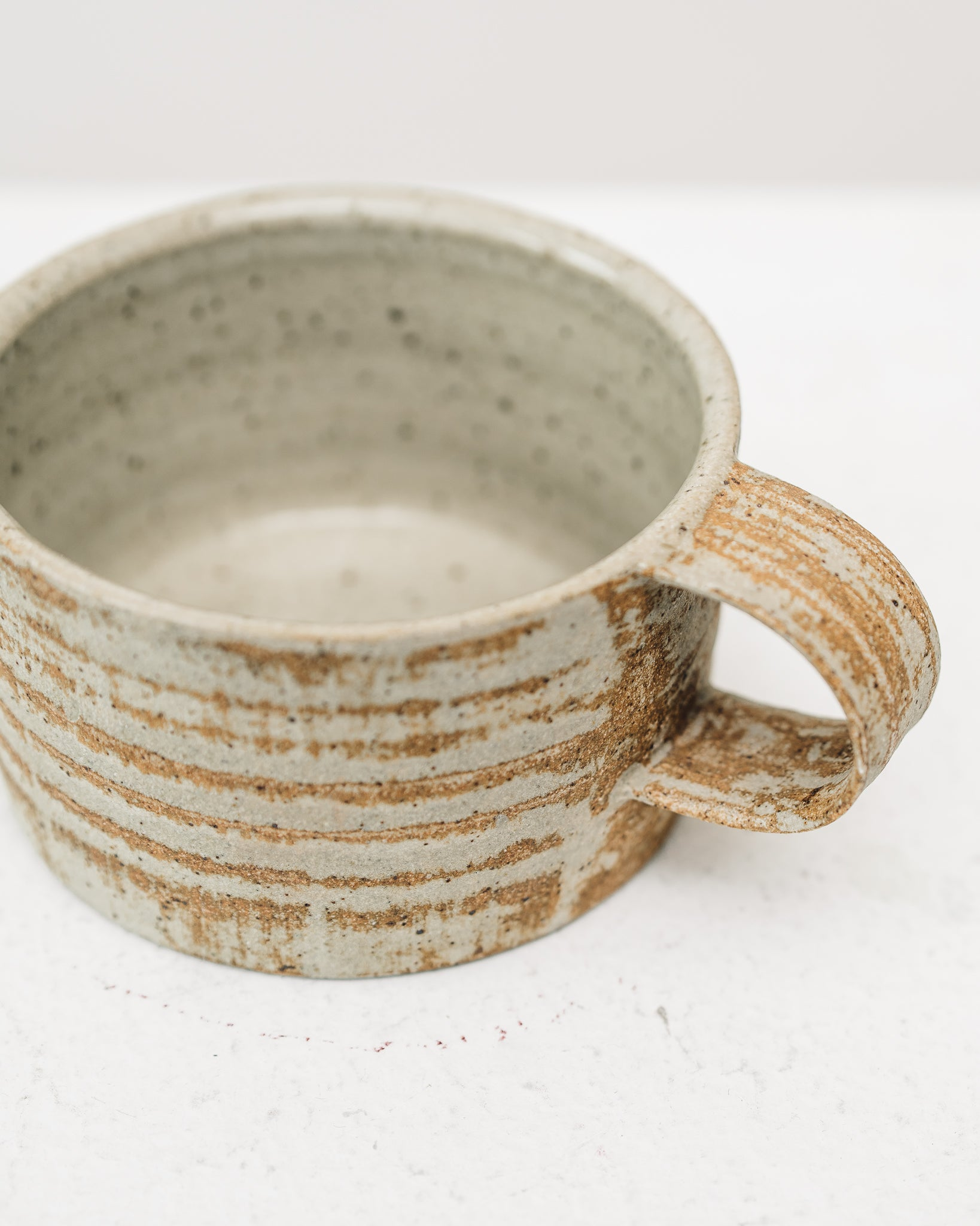 Natasha Alphonse Reduction Fired Mugs