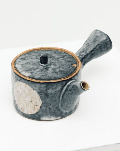 Ayame Bullock Indigo Moon Side Handle Tea Pot