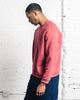 Older Brother Classic Crew Sweatshirt, Hibiscus Punch