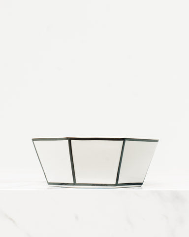 Black Edge Ring Dish