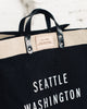 Apolis Seattle Market Bag, Black