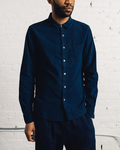 Older Brother Classic Shirt, Indigo