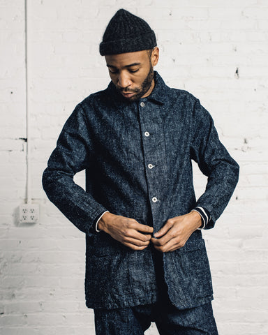 Zed Catch All-Jacket, Silk Nep Denim