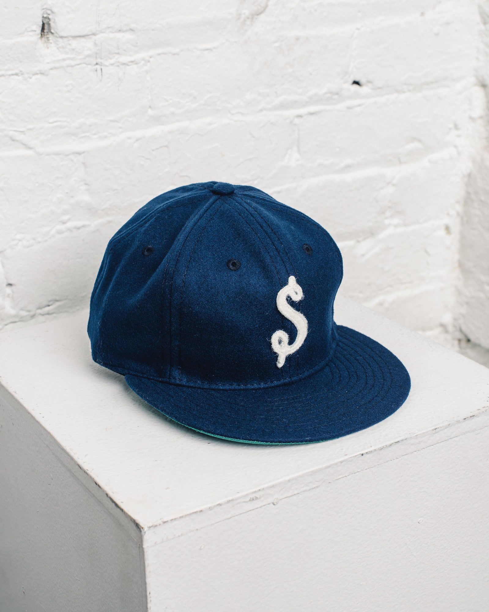 Ebbets Fitted Seattle Cap for Glasswing