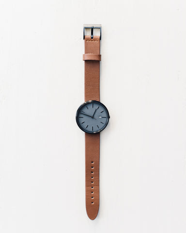 Uniform Wares M40 Calendar Watch PVD Grey