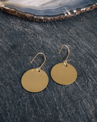 AK Studio Centre Earrings