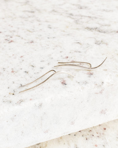 Knobbly Studio Calligraphic Ear Pin