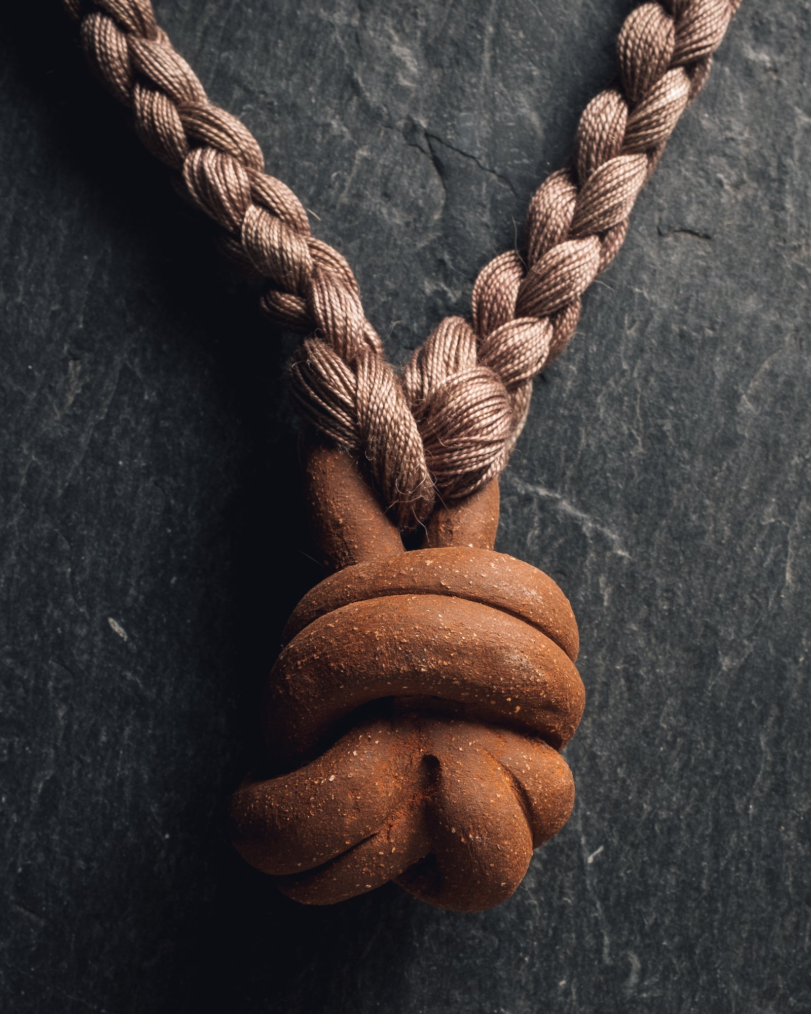 Barrow Knot Necklace