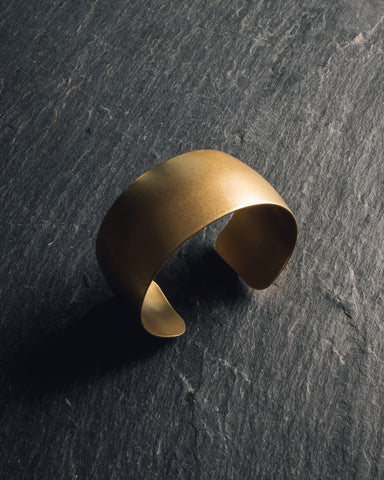 AK Studio Golden Cuff, 14k Gold Plated