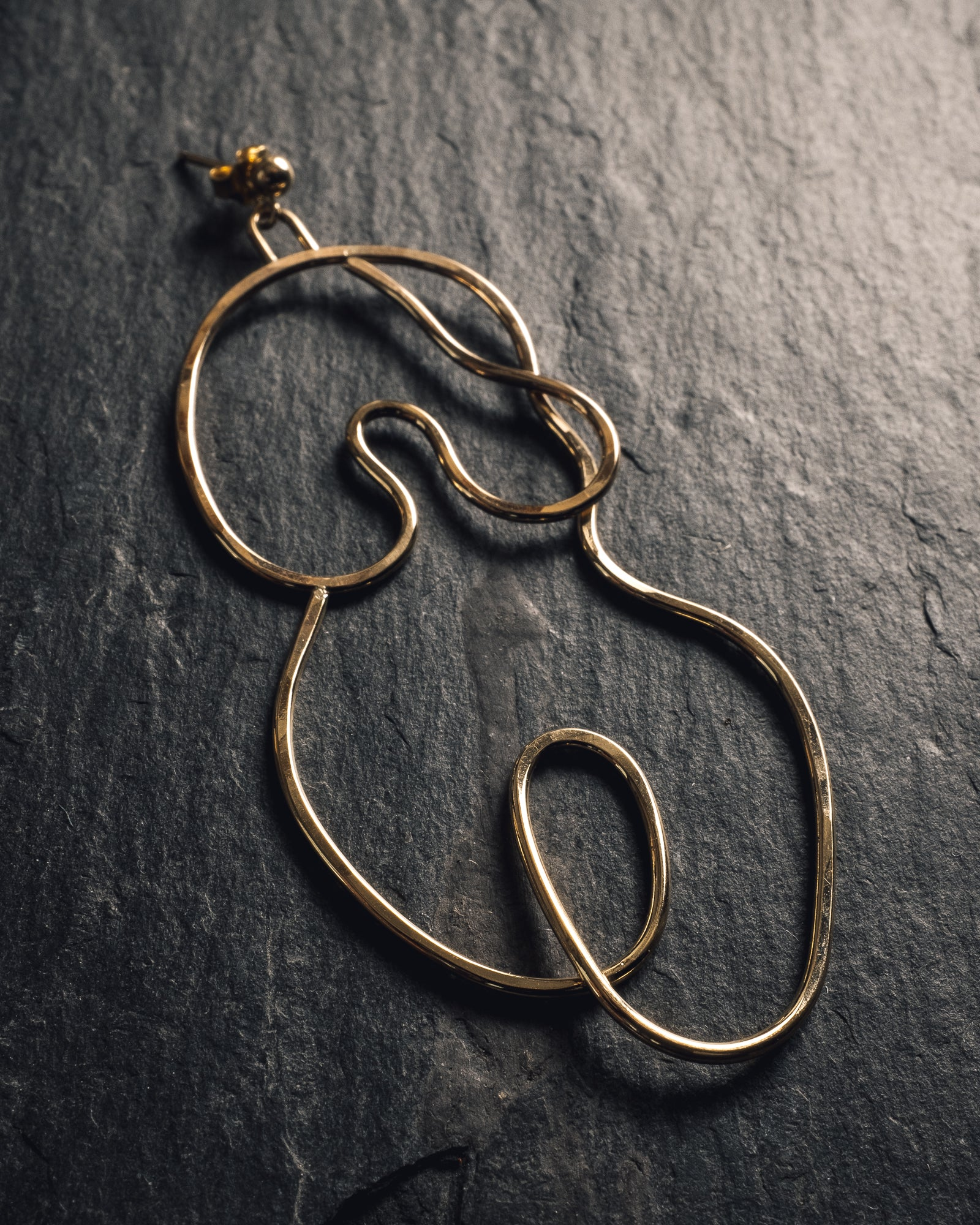 Knobbly Studio Nude No. 2 Earring, Large