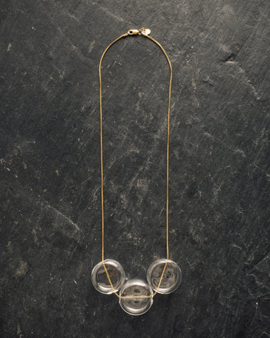 AK Studio Celestine Liquid Light Necklace