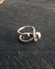 Luiny Orbit Ring, Silver