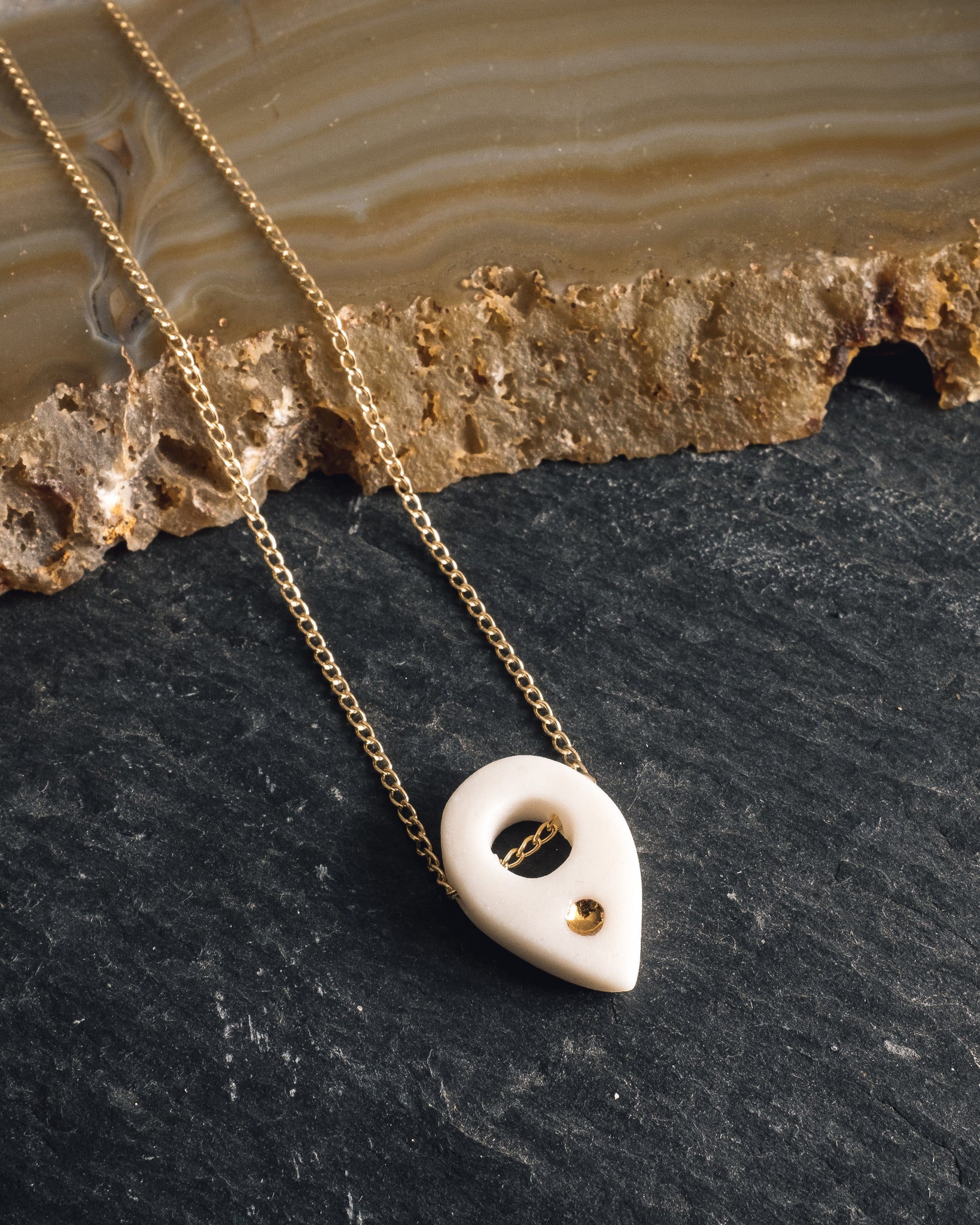 Barrow Planchette Necklace