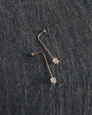 Another Feather Angle Earrings