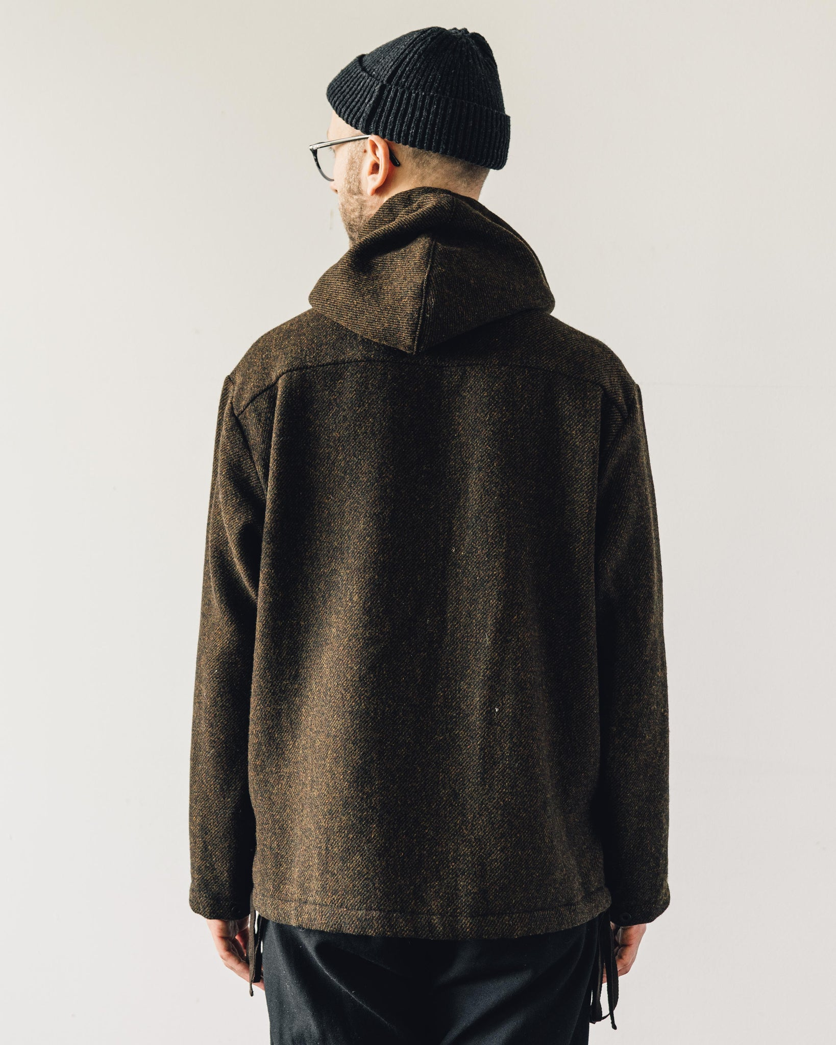 Evan Kinori Anorak, Brown
