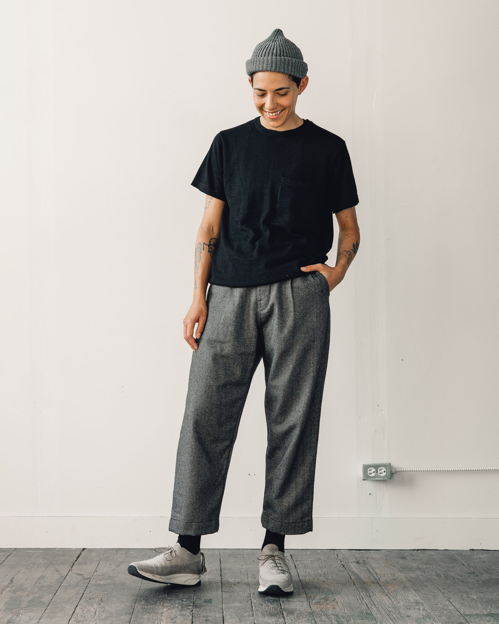 Evan Kinori Single Pleat Pant