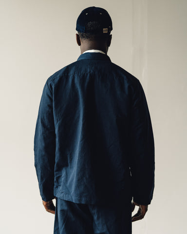 Evan Kinori Field Shirt, Navy