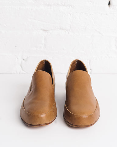 Feit Hand Sewn Slippers Tan, Womens