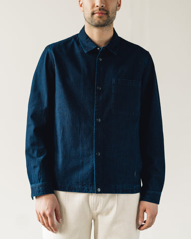 Folk Orb Jacket, Heavy Denim