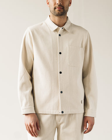 Folk Orb Jacket, Ecru Canvas