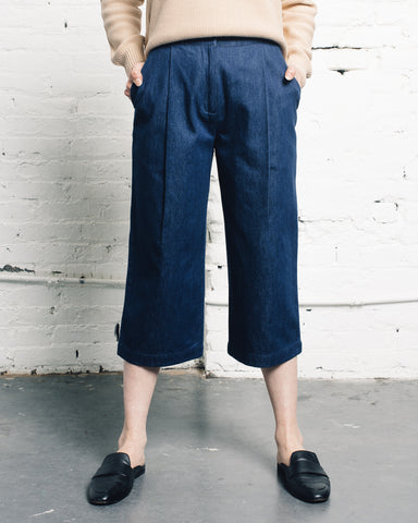 7115 Spring Cropped Trouser