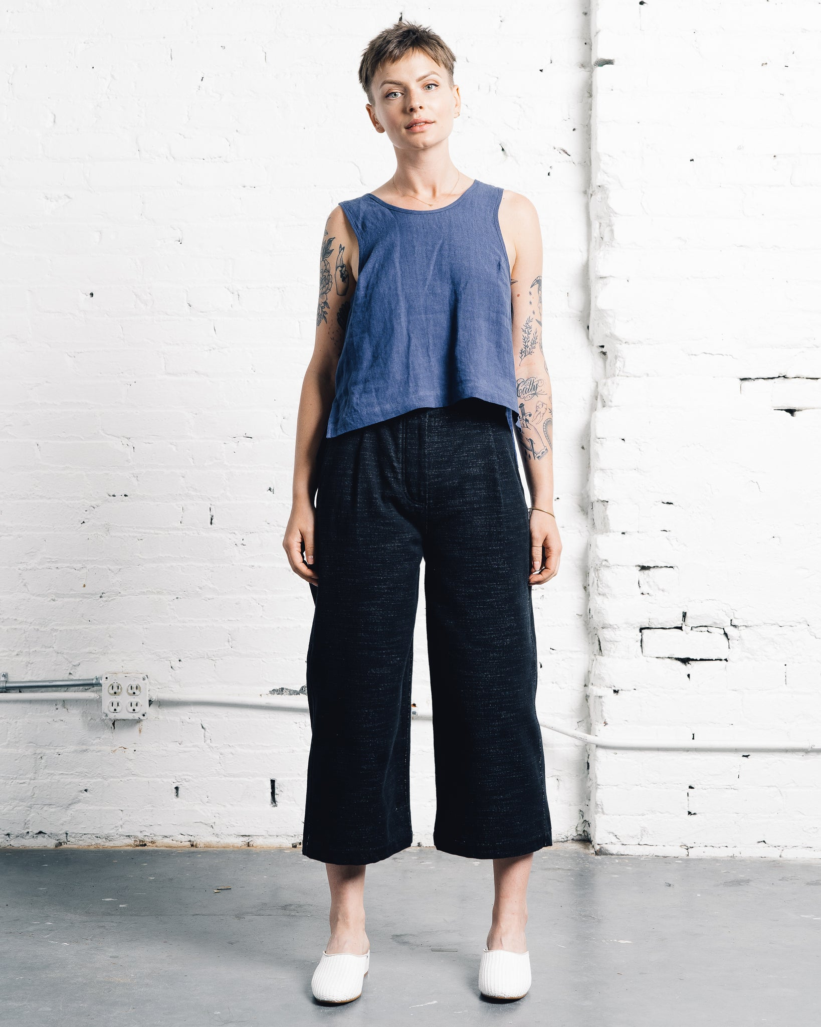 You Must Create Kyoto Trouser Black