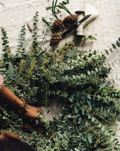 """Leaves & Laurel"" Wreath Workshop"