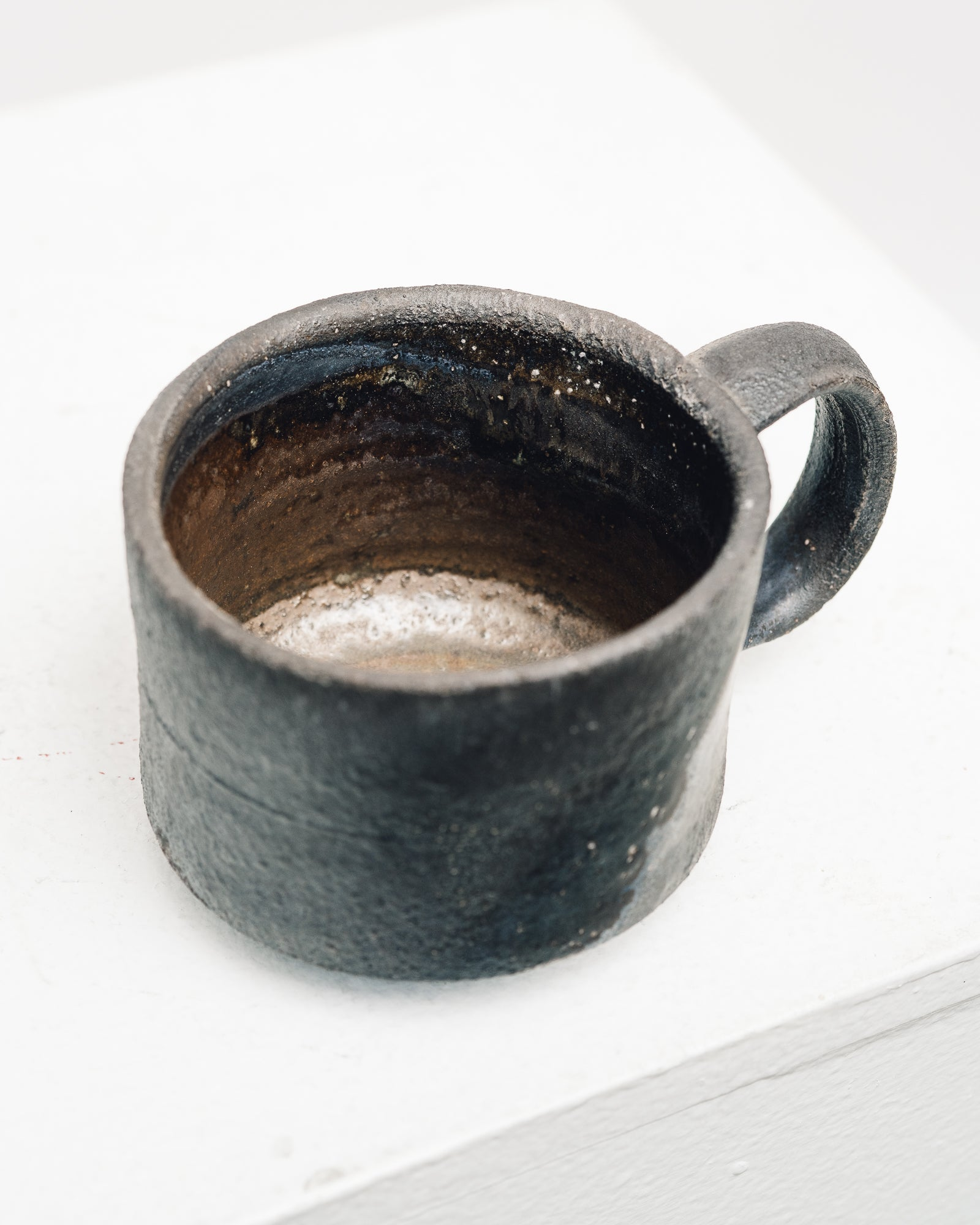 Natasha Alphonse Black Woodfired Mug