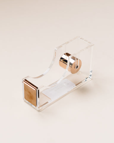 Poketo Lucite Tape Dispenser
