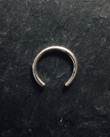Another Feather Thin Pace Ring, Silver