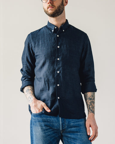 La Paz Branco Shirt, Dark Navy