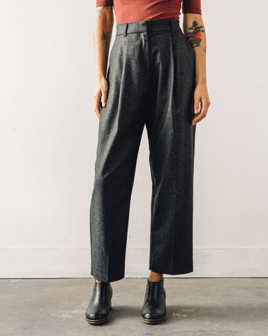 YMC Wool Market Trouser, Charcoal