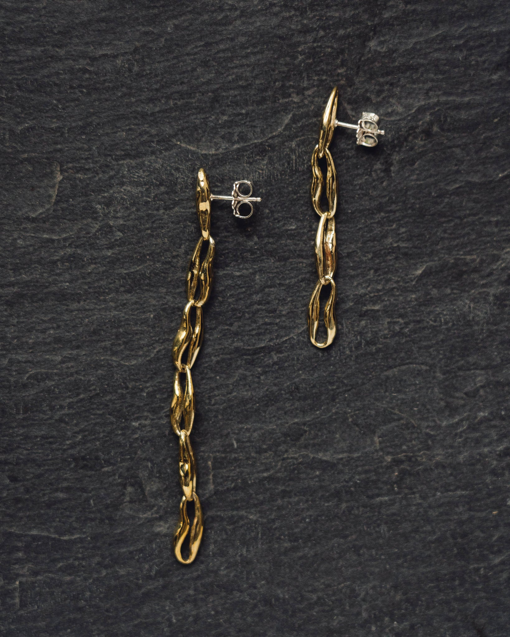 Leigh Miller Chain Earrings
