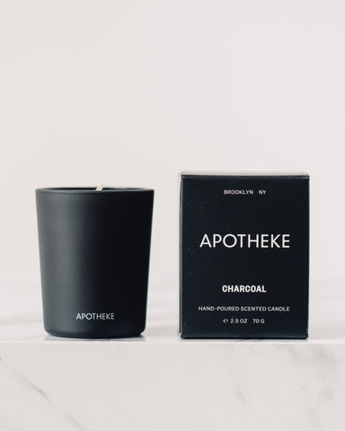 Apotheke Charcoal Votive Candle, 2.5oz