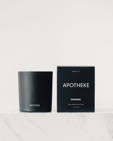 Apotheke Charcoal Signature Candle, 11 oz