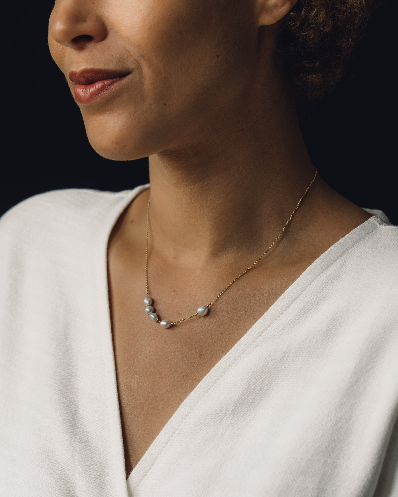 SUAI Mir Pearl Necklace