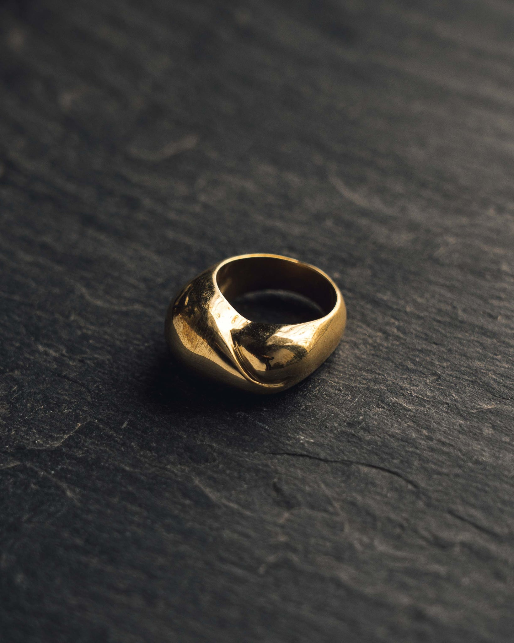 Leigh Miller Brass Infinity Ring