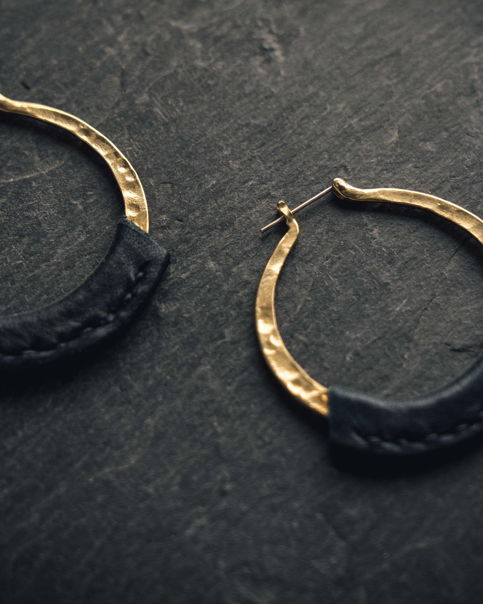 Crescioni Kiva Earrings, Indigo