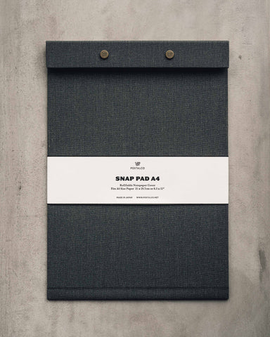 Postalco Snap Pad, Faded Black