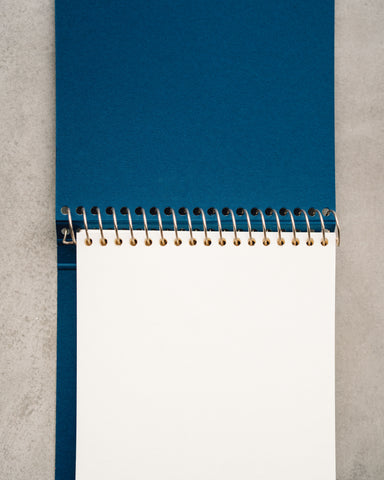 Postalco Square Dyed Notebook, Kelp Green