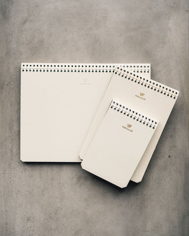 Postalco Ivory Notebooks
