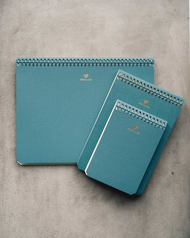 Postalco Light Blue Notebooks